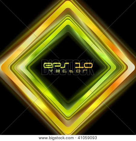 Abstract shiny squares background. Vector logo eps 10