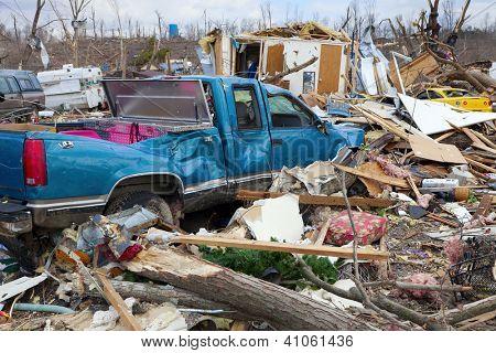 Tras tornado