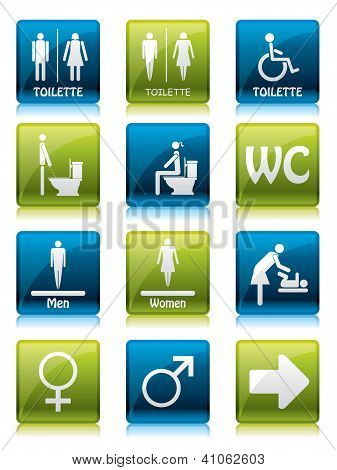 Toilette Signs