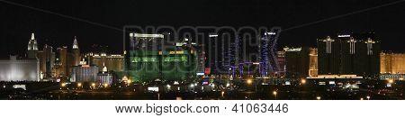 An Mgm Grand View From Mccarran International Airport
