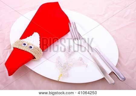 Christmas Dinner Decor
