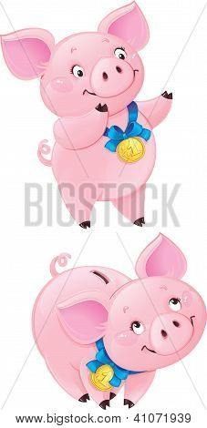 Cute Piggy-bank