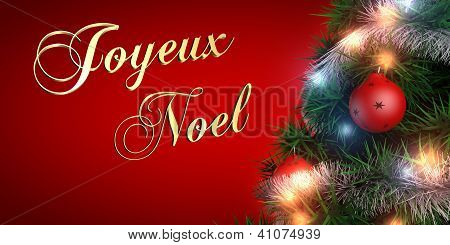 French Merry Christmas