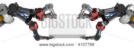 3 Finger Arm, Double Grip