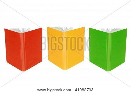 Three Open Book