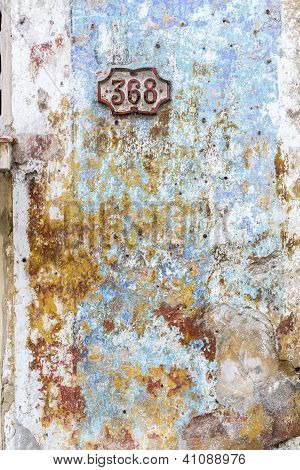 Weathered wall as background