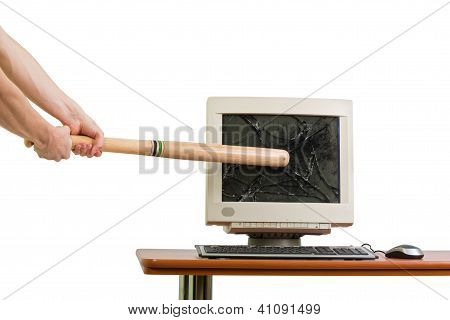 Breaking A Monitor