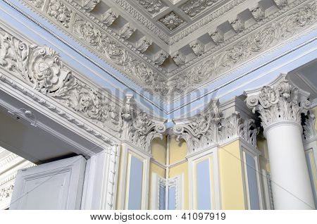 Interior Of An Old Mansion