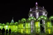 Ice Sculptures from the Ice and Snow World in Harbin China