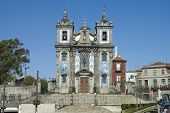 Постер, плакат: Церковь Санта Клара в порту Португалия