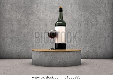 Wine exhibitor