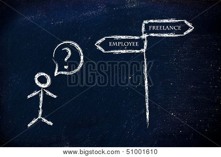 Job Choices: Working As Freelance Or Employee?