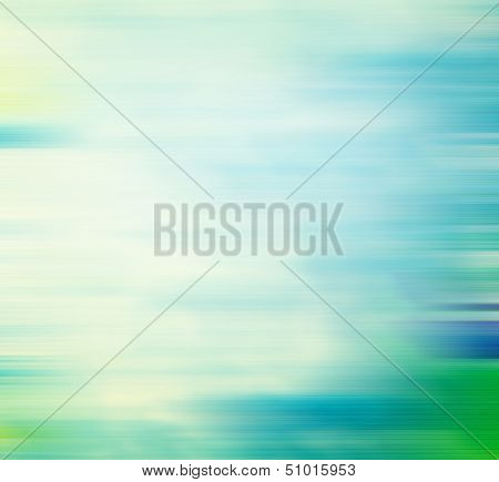 Old canvas: Abstract textured background with blue and green cloud-like patterns on white backdrop. For art texture, grunge design, and vintage paper / border frame
