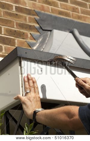 Fitting Fascia Board