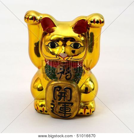 Picture of Japanese lucky cat