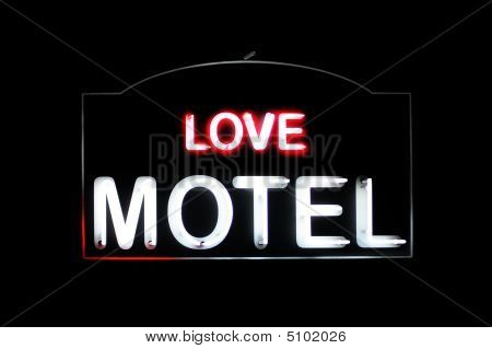 Love Motel Neon Sign