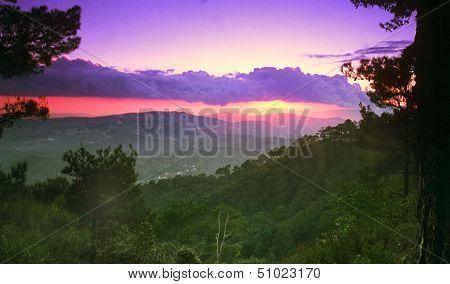 Cyprus Troodos Mountain Range