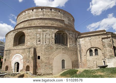 Christian Orthodox Church Of The Rotonda In Thessaloniki