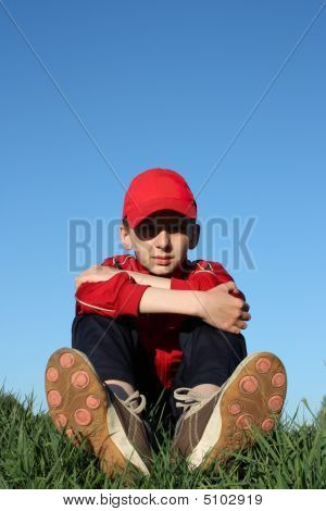 Boy On Hill