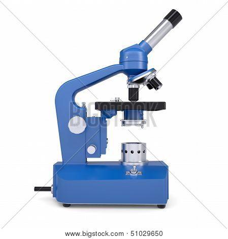 Blue microscope