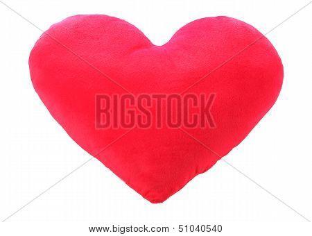 Heart Love Red Pillow