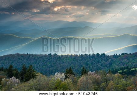 Southern Appalachian North Carolina Great Smoky Mountain Scenic