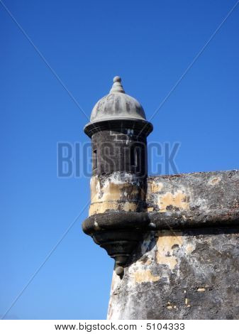 El Morrow Looking Out Tower, San Juan, Puerto Rico