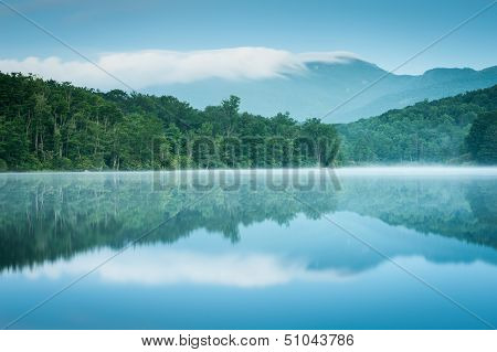 North Carolina Grandfather Mountain Reflection