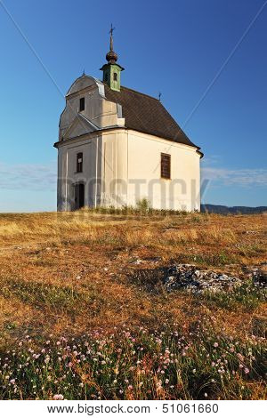 Holy Cross Baroque Chapel On The Hill Siva Brada - Spis