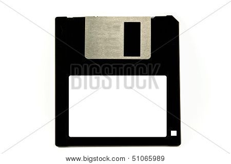 Old Diskette Isolated On White Background