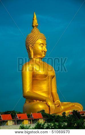 Biggest buddha in thailand