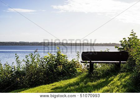 Closeup Bench