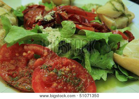 Goat Cheese Tomato Salad