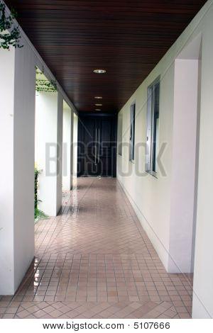 Mysterious Long Hallway