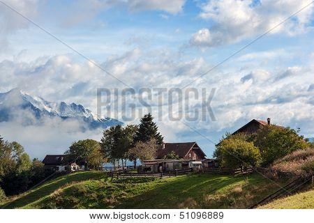 Farm In The Alps