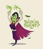 pic of halloween characters  - Halloween Vampire - JPG