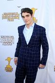 LOS ANGELES - JUN 26:  R j Mitte arrives at the 39th Annual Saturn Awards at the Castaways on June 2