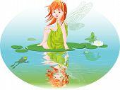 Постер, плакат: Фея воды