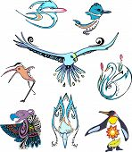 Miscellaneous Stylized Birds