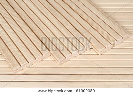 Pine floorboards - sound insulation