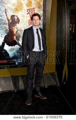 LOS ANGELES - MAR 4:  Jack O'Connell at the