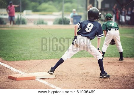 Runner on first base