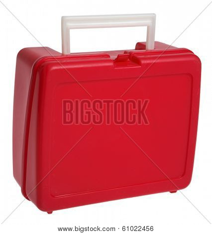 Back to School red lunchbox