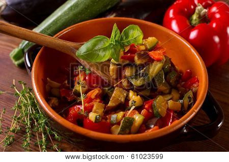 ratatouille on bowl