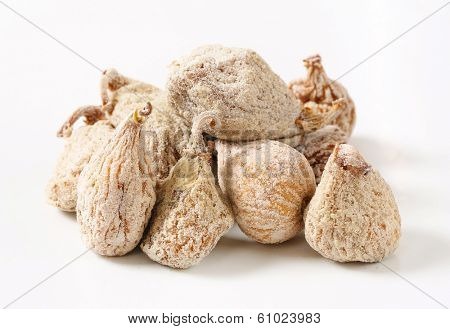 pile of sugared figs