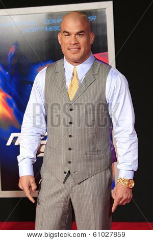 LOS ANGELES - MAR 6: Tito Ortiz at the premiere of DreamWorks Pictures' 'Need For Speed' at TCL Chinese Theater on March 6, 2014 in Los Angeles, California