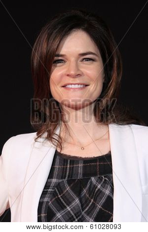 LOS ANGELES - MAR 6: Betsy Brandt at the premiere of DreamWorks Pictures' 'Need For Speed' at TCL Chinese Theater on March 6, 2014 in Los Angeles, California