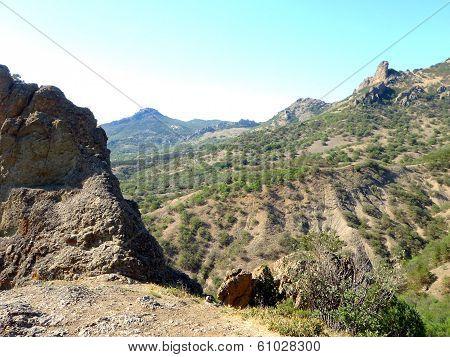extinct volcano Kara-Dag