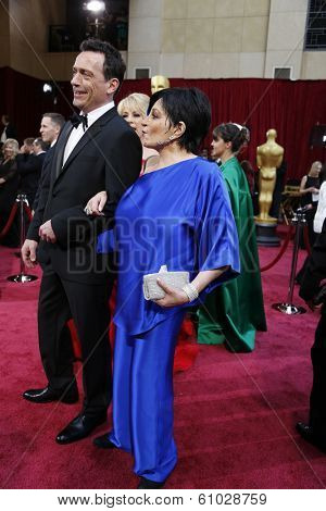 LOS ANGELES - MAR 2:: Liza Minelli  at the 86th Annual Academy Awards at Hollywood & Highland Center on March 2, 2014 in Los Angeles, California