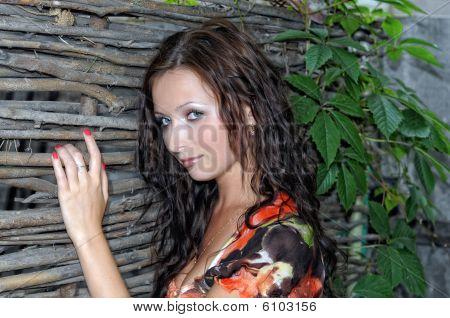 Woman Looks Aside